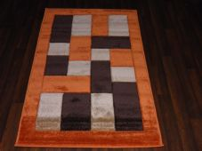 Modern New Rugs Approx 5x2ft6 80x150cm Woven Thick best quality ,Blocks Terra
